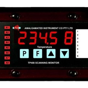 8 Channel Scanning Temperature Monitor - TP488-RT