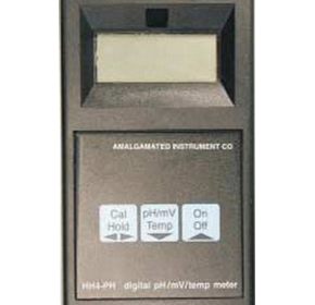 Hand Held Digital pH Meter - Model HH4-PH