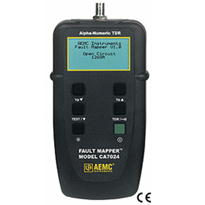 Cable Testers - Fault Mapper Model CA7024