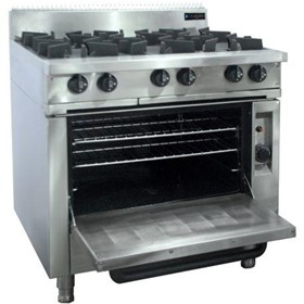 6 Burner | Cooktop w/ Gas Oven
