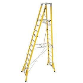 WorkMaster Fibreglass Step Platform Ladder | FPW 3.6