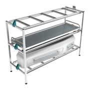 Mortuary Racking | 1 Bay Rack 3 Tier Light – 200kg