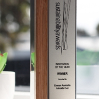 Enware wins 2015 Sustainability Awards - Innovation of the Year