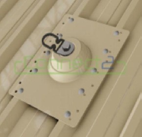 Connect2 Surface Mount Anchor - Powder Coated SM301.01