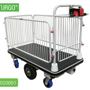 STURGO Electric Platform Trolley with Centre Drive | 10020001