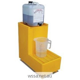 40L Polyethylene Decant Stand | Small Drum Bund