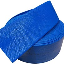 PVC Blue Layflat Hose 8 inch (200mm) Working Pressure 45PSI