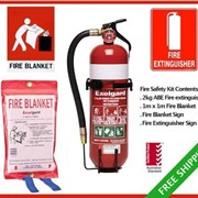 Exelgard Fire Safety Kit