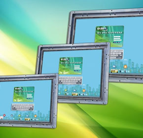 Industrial Grade Monitors | IEI Integration LCD Kit-F Series