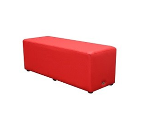 Rectangle Indoor Lounge Ottoman Chair