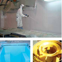 Aliphatic Polyurethane Spray Eraspray AL93A Spray Membrane