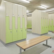 IntraSpace Laminate Lockers Step Style