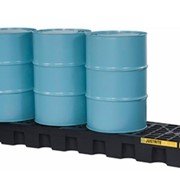 Drum Bunds & Spill Pallets | 4 Drum Containment Bunds | Polyethylene