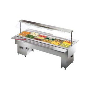 Heated Bain-Marie Buffet | Monaco