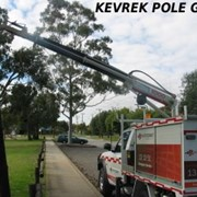 Truck Mounted Cranes | Kevrek Pole Grab