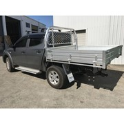 Heavy Duty Alloy UTE Tray | 1730L x 1855W