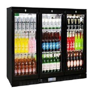 Commercial Glass Under Bench Bar Fridge