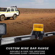 LED Mine Light Bar MB1221C Rear Roof Mount Tail Lights & Safety Beacon