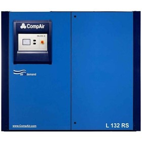 Oil Lubricated Rotary Screw Air Compressor | L132RS