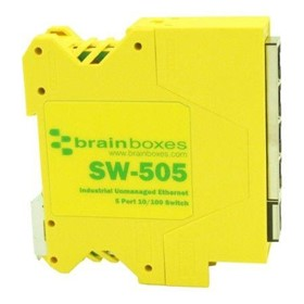 Industrial Compact Ethernet 4/5 Port Switch DIN Rail Mountable