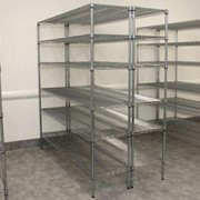 SPECIAL DEAL! Chrome Wire Shelving 1880H x 1520W x 460D