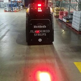 Red Forklift Warehouse Safety Light | Forklift Red Spot