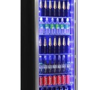 Upright Glass Door Bar Fridge JC430B