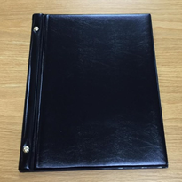 A4 Leather Look PVC Menu Folders