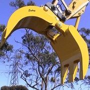 Heavy Duty Grapple for Skid Steer | Embrey HDR