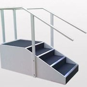 Deluxe Exerciser Stairs, Up and Back, VSR23