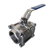 Three Piece Full Port 316 S/S BSP Ball Valve