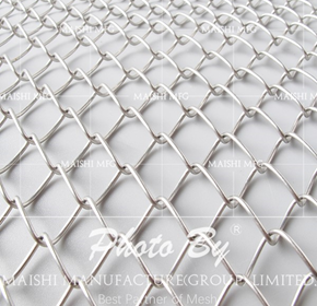 Stainless Steel Chainlink fencing