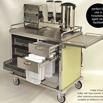 Breakfast Serving Trolley