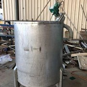 Lightnin Stainless Steel Mixing Tank