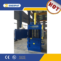 Hydraulic Vertical PET Bottles Balers | Enerpat