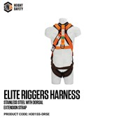 LINQ Elite Riggers Safety Harness - H301-DRSE