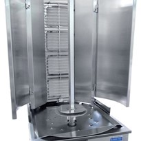 Royston 4 Burner Infrared Vertical Rotisserie - Swing Model