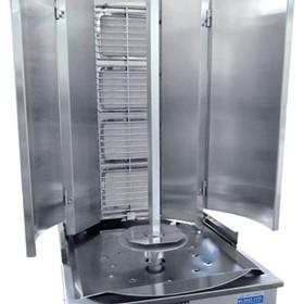 4 Burner Infrared Vertical Rotisserie - Swing Model