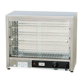 Commercial Pie Warmer & Hot Food Display Cabinet – 100 Pies