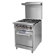 F.E.D GasMax 4 Burner Oven Range With Flame Failure NG/LPG