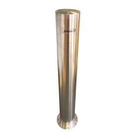 168MM Surface Mount Stainless Steel Safety Bollard