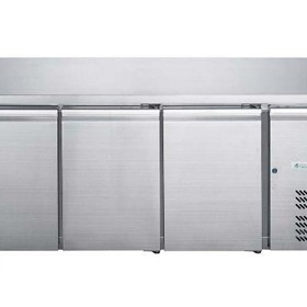 FED-X S/S Three Door Bench Freezer - XUB6F18S3V