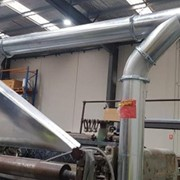 Better ducting system reduces waste clean up