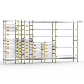 STERIRACK System 400D Wire Shelving Installation