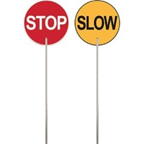 Traffic Paddle - Slow/Stop