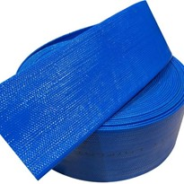 PVC Blue Layflat Hose 6 inch (150mm) Working Pressure 45PSI