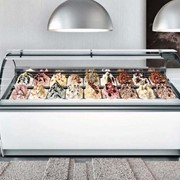 Ice Cream & Gelato Display | Moon