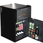 Mini Wine and Beer Fridge With Two Zones
