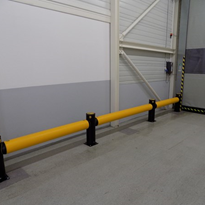 Safety Barrier | A-SAFE | Traffic High Level iFlex Barrier