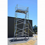 Medium Duty Scaffolding | SUPASCAF 5.0m Aluminium Mobile Scaffold